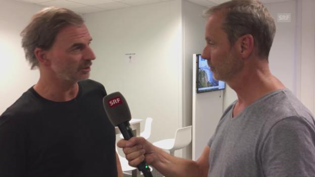 Video «Günthardt: «Bacsinszky und Hingis wissen, wie sie zusammen spielen müssen»» abspielen