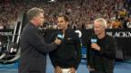 Video «Roger Federer: schlagfertig auch im Interview» abspielen