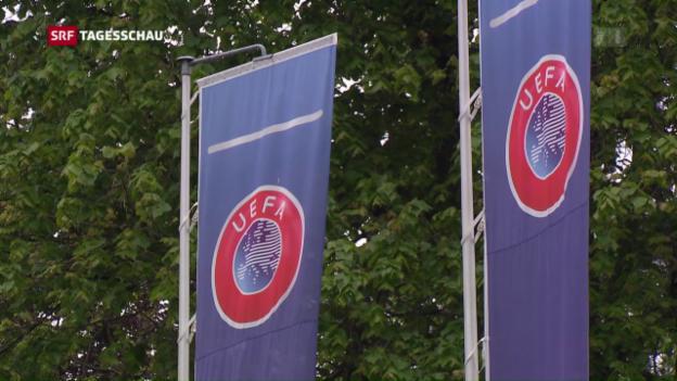 Video «Razzia bei der Uefa wegen «Panama Papers»» abspielen