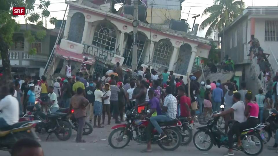 Terratrembel a Haiti