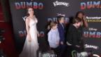 Video «Weltpremiere in Los Angeles von «Dumbo» mit vielen Stars» abspielen
