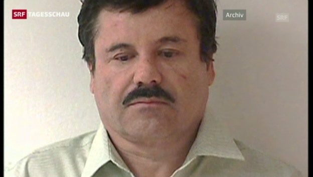 Video «Berüchtigtem mexikanischem Drogenboss gelingt die Flucht» abspielen