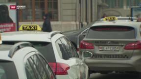 Video «Seilziehen in Schweizer Taxibranche» abspielen