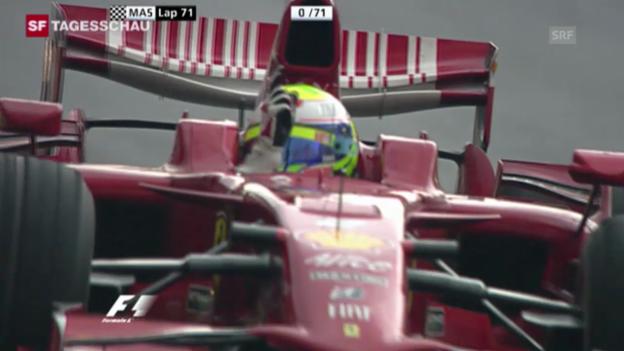 Video «Massas letzter (und tragischster) GP-Sieg (02.11.2008)» abspielen