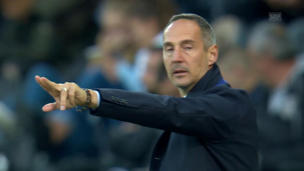 Adi Hütter bleibt YB-Trainer