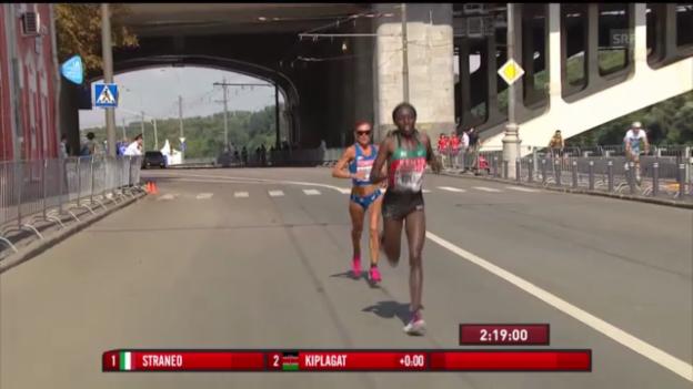 Video «LA-WM: Die Entscheidung im Marathon («sportlive»)» abspielen