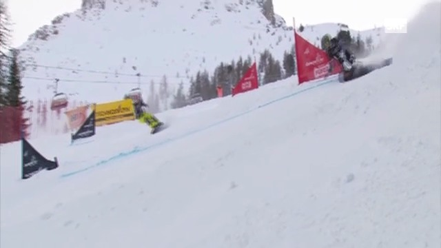 Snowboard: PGS Carezza, kleiner Final