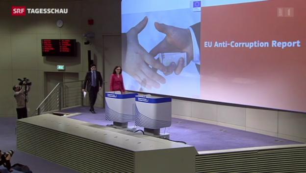 Video «EU will Kampf gegen Korruption intensivieren» abspielen