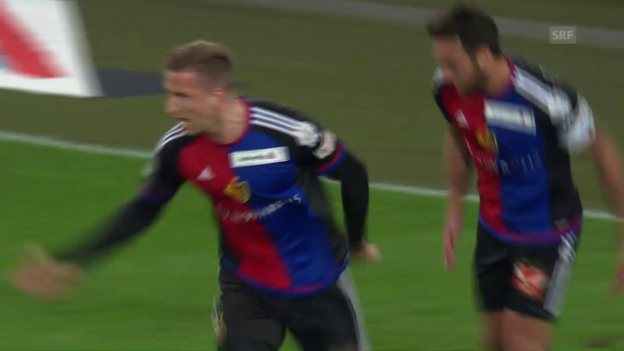 Video «Basel schlägt Zürich im Cup-Viertelfinal» abspielen