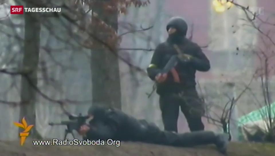 Die blutige Nacht auf dem Maidan