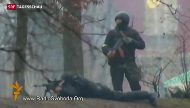 Video «Die blutige Nacht auf dem Maidan» abspielen
