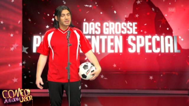 Hakan Yakin als Fussballjongleur