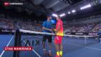 Video «Wawrinka am Australian Open weiter» abspielen