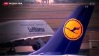 Video «Dunkle Wolken über Lufthansa» abspielen