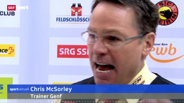 Video «Eishockey: Stimmen zu Bern - Genf» abspielen