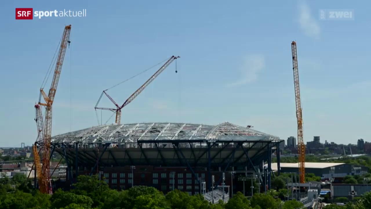 Tennis: Ein Dach für die US Open