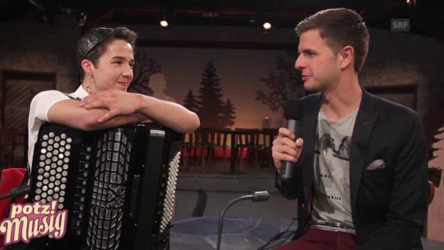 Video ««Potzmusig» hinter den Kulissen: Gabriel Streule» abspielen