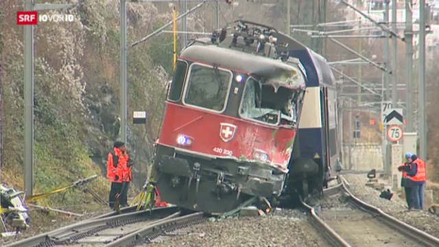 17 Verletzte bei Zugunglück