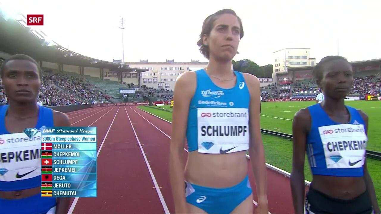 Schlumpf mit Schweizer Rekord in Oslo