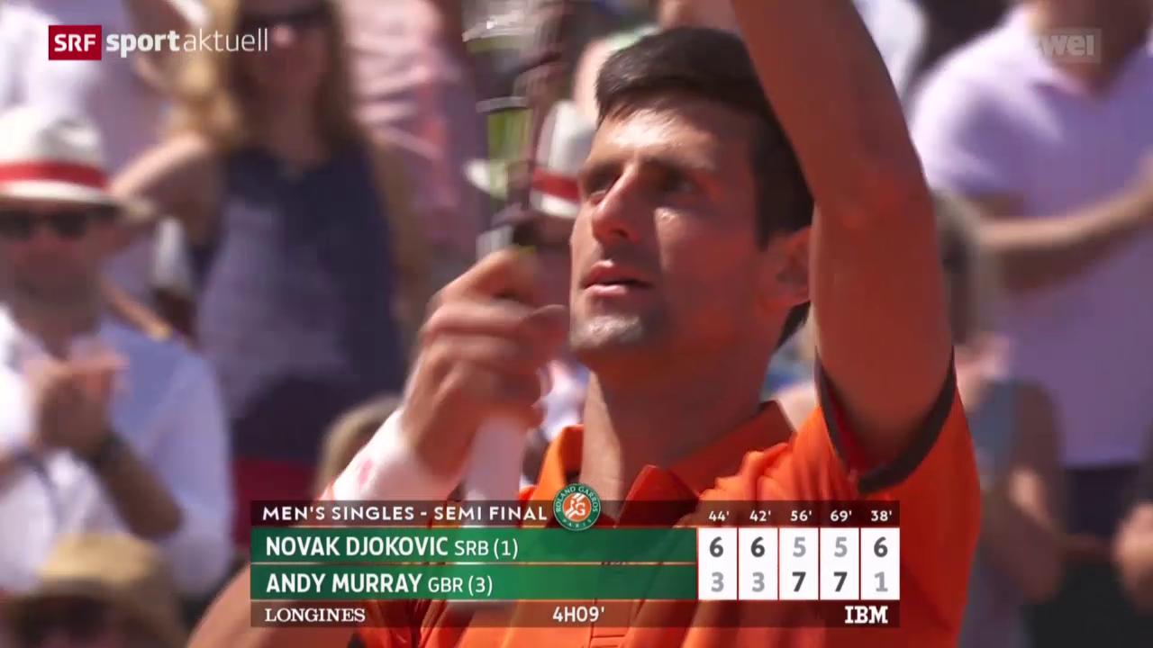 Tennis: Djokovic - Murray