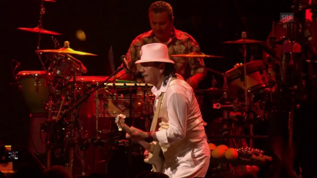 Video «Santana - «Oye Como Va» Live At Montreux 2011» abspielen