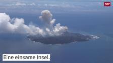 Link öffnet eine Lightbox. Video Wegen eines Vulkans wird diese Insel immer grösser abspielen