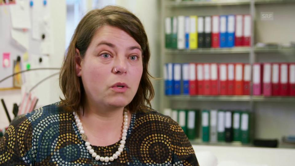 Dragana Weyermann von der Patientestelle Basel betont, wie wichtig fachjuristische Begleitung im Kampf um Schadenersatz ist.