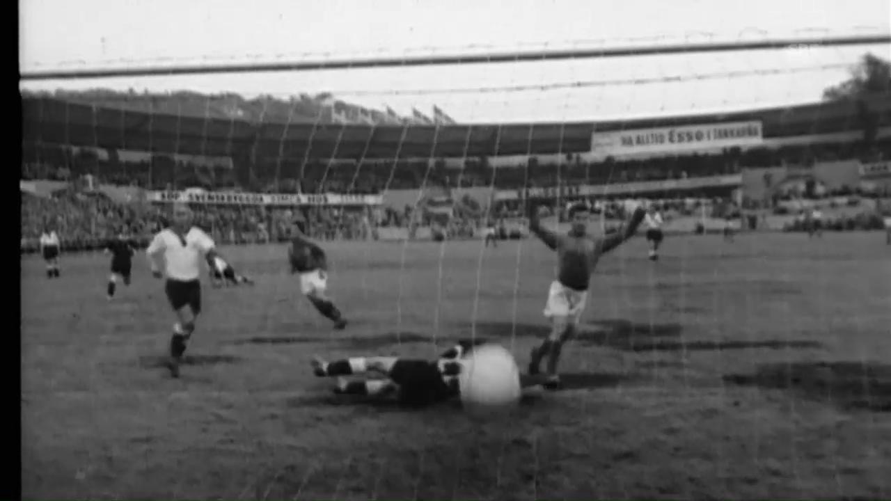 WM 1958: Fontaine nimmt Deutschland auseinander