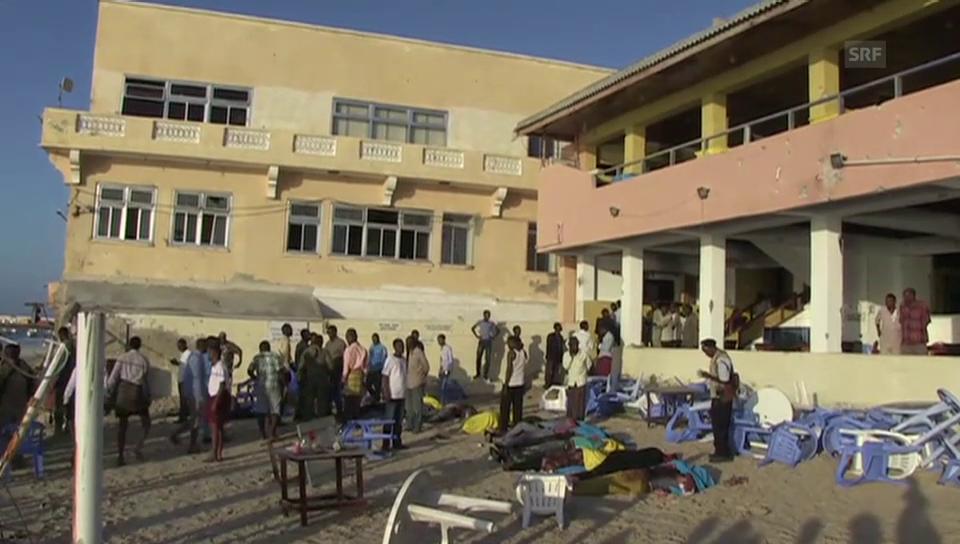 Anschlag am Lido-Strand von Mogadischu