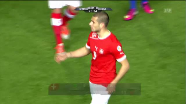 Fussball: Zusammenfassung Zypern - Schweiz («sportaktuell»)
