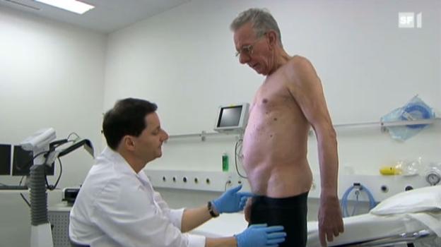 Video «Schmerzen nach Leistenbruch-Operation» abspielen