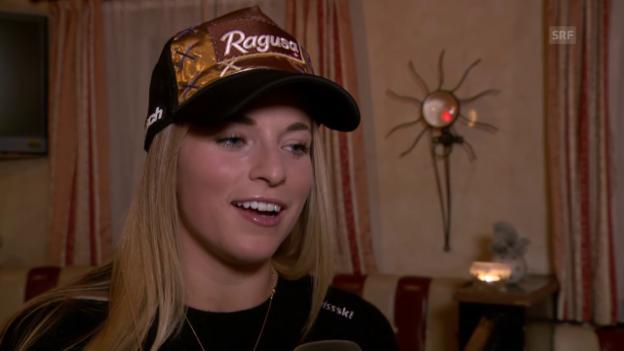 Video «Lara Gut: «Energie aufs Skifahren konzentrieren»» abspielen