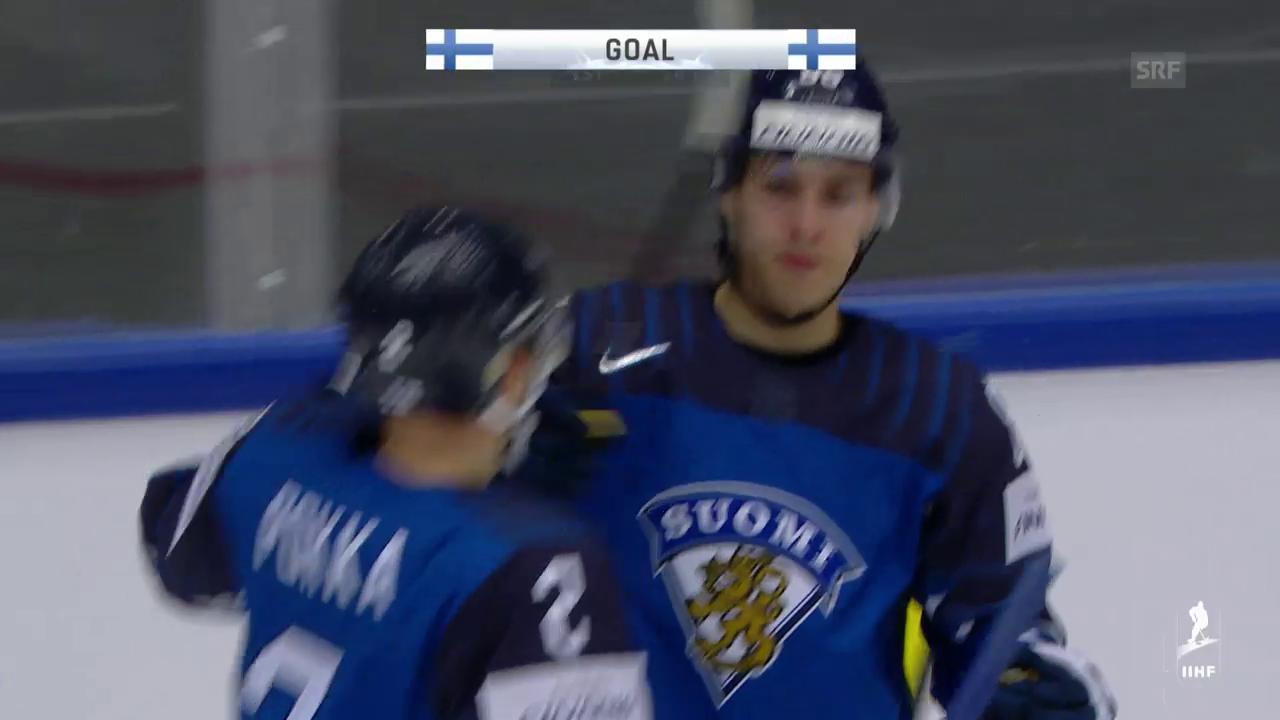 Die Tore bei Finnland - Südkorea