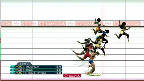 Video «Der 100m-Final der Frauen» abspielen