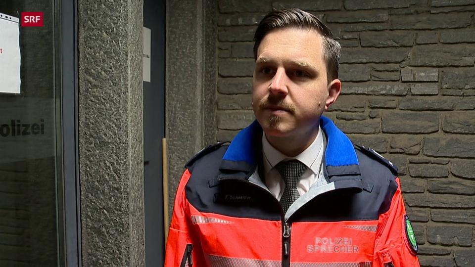 Florian Schneider von der Kantonspolizei St. Gallen zu den Ausfällen