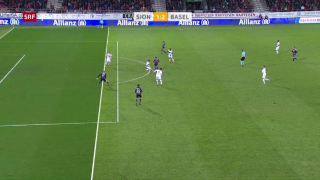 Video «Basel mit Dusel-Sieg in Sion» abspielen