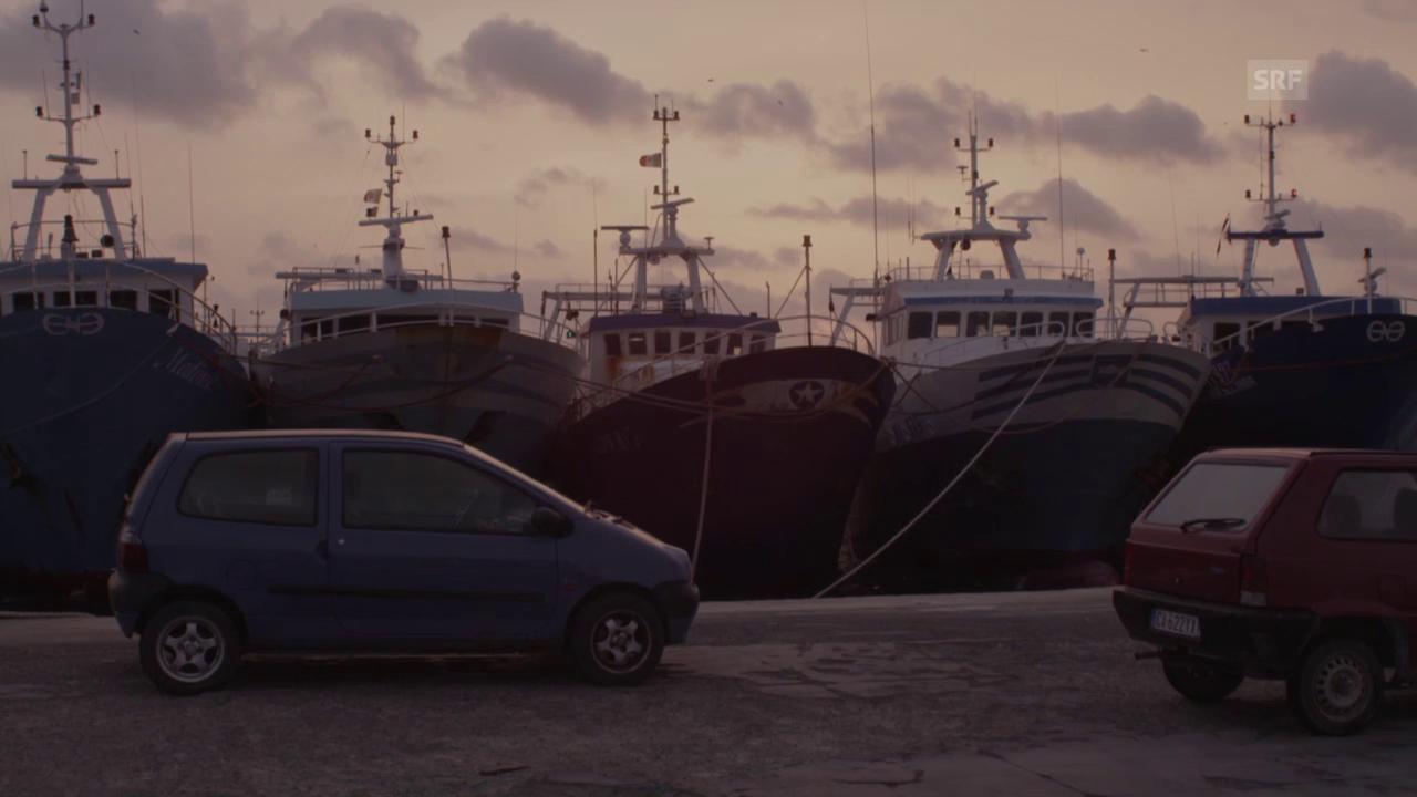 Ausschnitt «Lampedusa in Winter»