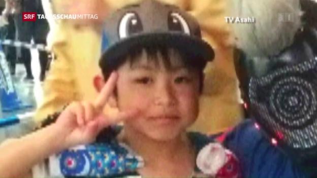 Video «Japanischer Junge wohlauf» abspielen
