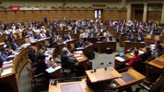Video «Schweigeminute für Jo Cox im Bundeshaus» abspielen