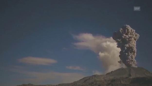 Video «Neue Eruptionen des Sabancaya (unkomm.)» abspielen