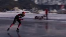 Link öffnet eine Lightbox. Video Eisschnellläufer Livio Wenger «back to the roots» abspielen