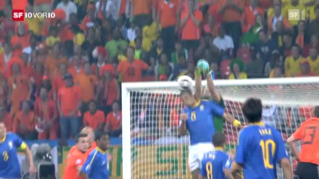 Die Holländer schlagen Brasilien