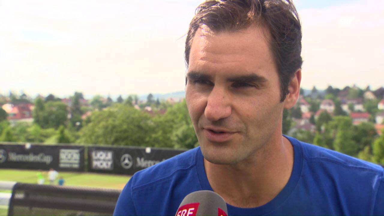 Federer über erwünschten Muskelkater und seine Gesundheitssorgen