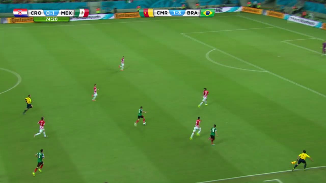 Kroatien - Mexiko: Die Live-Highlights