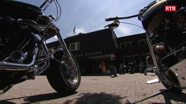 Laschar ir video «Easy rider en la Casa Depuoz, Telesguard 21-05-2007»