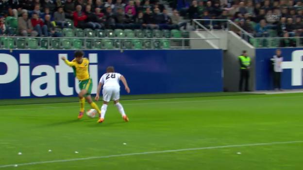 Video «Das «Maradona-Dribbling» von Ivelin Popov («sportlive»)» abspielen