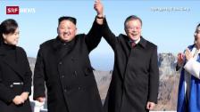 Link öffnet eine Lightbox. Video Kim und Moon besuchen mythischen Vulkan abspielen