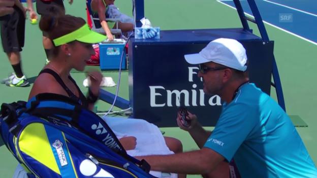 Video «Tennis: WTA Toronto, Diskussion Belinda und Ivan Bencic» abspielen