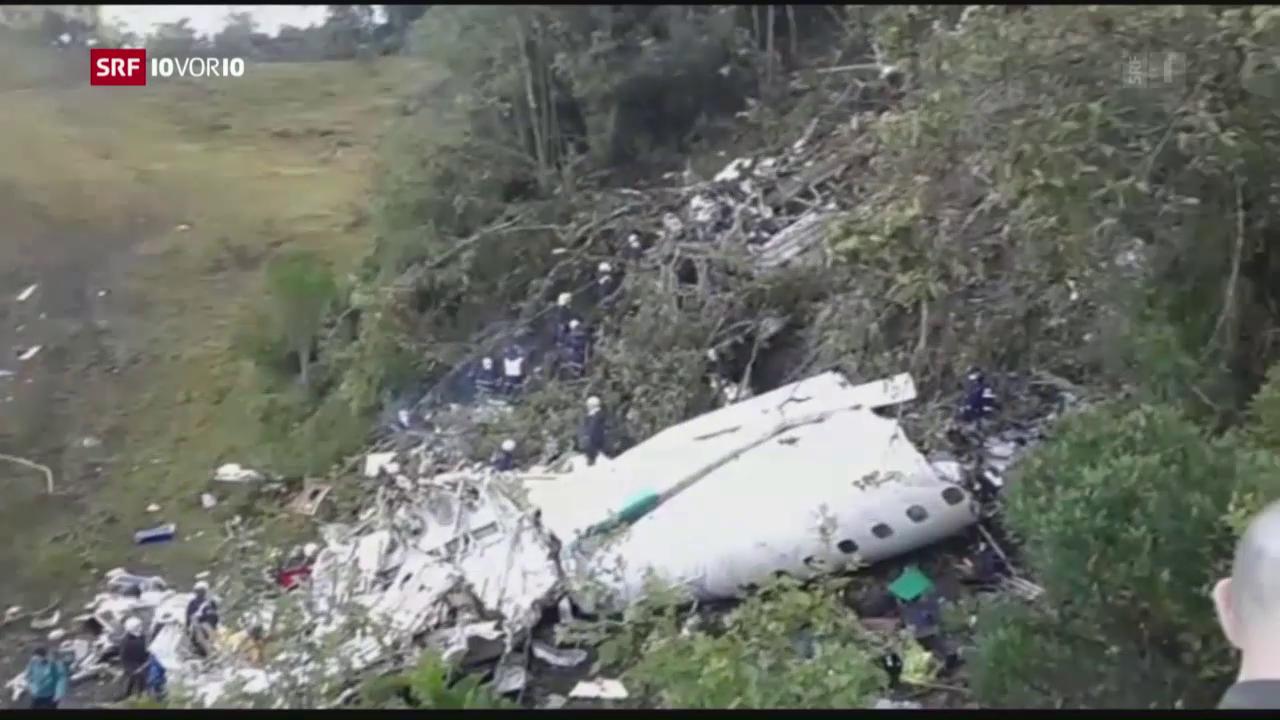 Fussballmannschaft stirbt bei Flugzeugabsturz