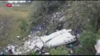 Video «Fussballmannschaft stirbt bei Flugzeugabsturz» abspielen